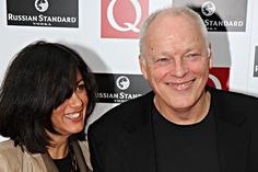 David Gilmour and Polly Samson Photo - The Q Awards 2008 In London