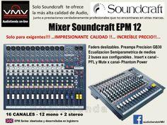 Soundcraft mixer EPM12
