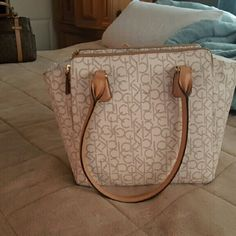 New Purse NEW with tags, BIG bag!! 75% off ORIGINAL PRICE! PRICED TO SELL! Calvin Klein Bags Totes