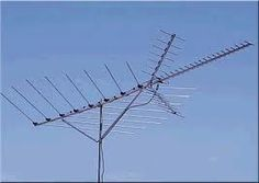 TV-Antenna on almost every house - before there was cable TV.  When we first heard of paying for TV we thought someone must be crazy to suggest such a ridiculous idea!!!