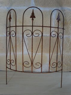 Beetzaun rund Beeteinfassung 136807 Rasenkante Beetbegrenzung Zaun Eisen Metall