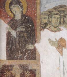 dettaglio dell'affresco; Paraclisis di san Simeone. 1230 Dubrovnik, Painting, Art, Western World, Art Background, Painting Art, Kunst, Paintings, Performing Arts