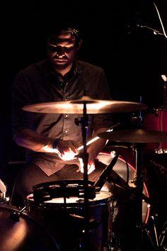 Rad shot of a drummer | Cameron David Smith Photography                                                                                                                                                                                 More