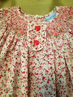 NWT Remember Nguyen Smocked Floral Dress!  3 months.  PRECIOUS!!!!!