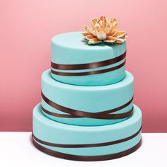 Beautiful cake idea ... just might try and do it!