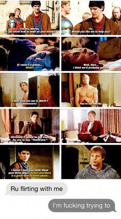 Sometimes I feel like Arthur is the biggest idiot, but Merlin's just SO clueless Merlin Memes, Merlin Funny, Merlin Quotes, Sherlock Quotes, Merlin Show, Merlin Fandom, Merlin Merlin, Merlin And Arthur, King Arthur