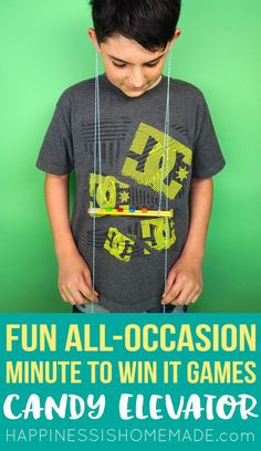 Super Fun All-Occasion Minute to Win It Games for All Ages - Kids, Teens, and Adults!