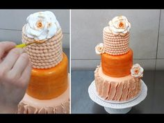 Gift Bow Cake How To Make By CakesStepbyStep