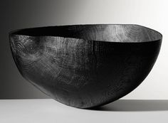 Friedeman Bühler - Bowl, blackened oak