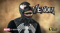 MARVEL's Venom CFX Mask Try On Demo