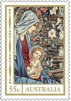 Australia stamp 55 cent
