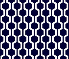 ABP navy lattice fabric by amybethunephotography on Spoonflower - custom fabric - BENCH CUSHIONS (? Fabric Patterns, Print Patterns, Blue Patterns, Fabric Decor, Fabric Design, Pattern Design, Custom Wallpaper, Fabric Wallpaper, Geometry Pattern