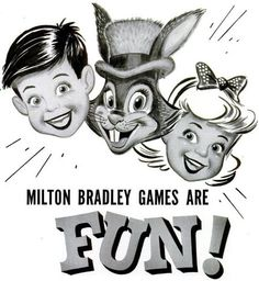 Milton Bradley Games Are Fun!