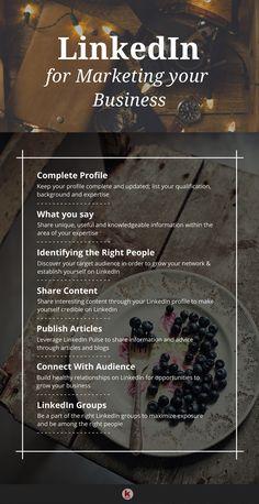How to use LinkedIn for marketing - Electronic digital Promoting Described Marketing Digital, Sales And Marketing, Marketing Tools, Business Marketing, Internet Marketing, Online Marketing, Social Media Marketing, Inbound Marketing, Affiliate Marketing