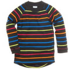 SIGNATURE STRIPE MERINO WOOL SWEATER (CHILD)
