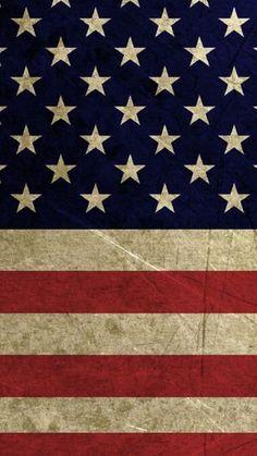 American Flag iPhone 6 HD Wallpaper