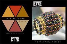 "Eva Maria Keiser Designs: Keiser Designs Colorways: ""Evening Crown"" | 2003"