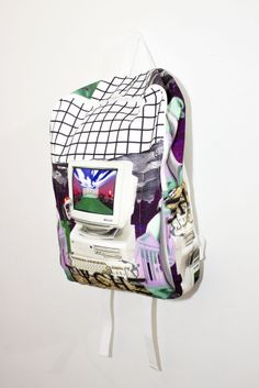 Roberto Piqueras — BACKPACK PAOM Collaboration START Print