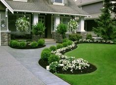 46 Stylish Front Yard Landscaping Ideas
