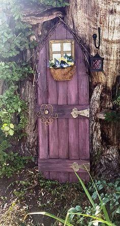 the magical garden door, crafts, doors, gardening, landscape, repurposing…