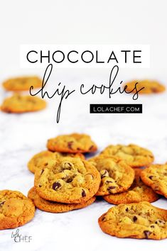 A perfect go to chocolate chip cookie recipe in a free desserts ebook. Chocolate Chip Cookies, Free Food, Cookie Recipes, Delicious Desserts, Homemade, Chocolate Pudding Cookies, Home Made, Chocolate Cookies, Hand Made