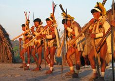 Ritual na aldeia Matokodakwa, Terra Indígena Enawenê Nawê. Foto: Kristian Bengtson, 2003