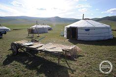 Mongolische Jurten #ebookers #mongolia