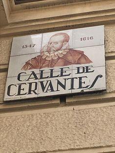 Calle Cervantes, Madrid, España