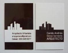 architect business card - Buscar con Google