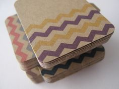Items similar to Kraft Brown Chevron Tags Spring 2012 Pantone Colors - Set of 200 on Etsy Pantone Color, Gift Tags, Chevron, Spring, Brown, Unique Jewelry, Handmade Gifts, Notebook, Inspiration