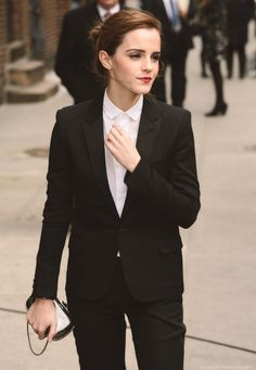 flawless-emma: Emma Watson - Late Show with David Letterman Arrivals - 25 March 2014