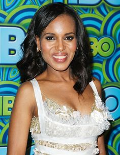 In a new interview, Scandal actress Kerry Washington says she abstains from alcohol unlike her on-screen character Olivia Pope