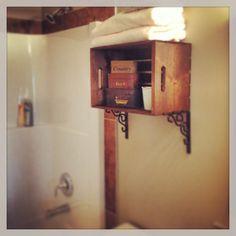 Post diy pallet bathroom shelf and storage ideas diy recycled pallet - Pinterest The World S Catalog Of Ideas
