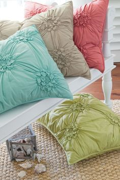 Bella Smocked Sham - Pillow Shams, Bedding, Home Decor | Soft Surroundings