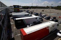 The GP3 paddock