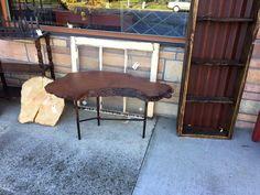cute little table, live edge #rust2914 #rustpuyallup