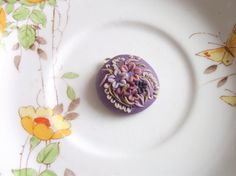 Falling Petals Pendant by BeadyizeJewellery on Etsy