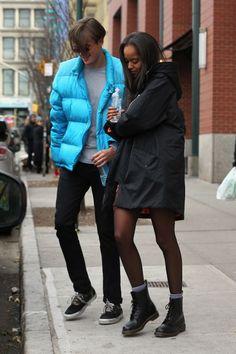 09053d63d36 Malia Obama with boyfriend Rory Farquharson in New York