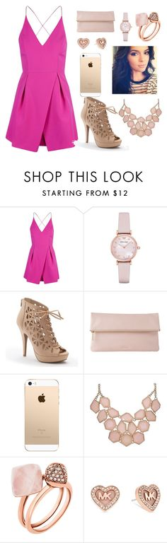 """""""date night"""" by fashionista-inspired ❤ liked on Polyvore featuring Topshop, Emporio Armani, Apt. 9, Whistles and Michael Kors"""
