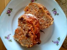 mrkvová bábovka s rozinkami