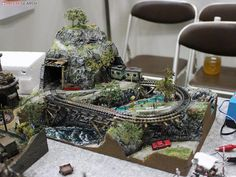 Track Layout Ideas for Your Model Train N Scale Model Trains, Model Train Layouts, Hobby Electronics Store, Hobby Lobby Furniture, Hobby Shops Near Me, Hobby Cnc, Hobby Lobby Christmas, Hobby Trains, Train Set