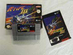R-Type III: The Third Lightning  (Nintendo SNES, 1994) #rare