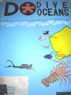 DIVE OCEANS Blog: 密かにお店を改装してます。
