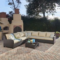 1000 Images About Sectional Outdoor Patio Furniture On Pinterest Wicker G