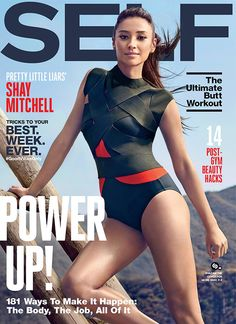 Shay Mitchell Talks Life Beyond Pretty Little Liars in Self Magazine