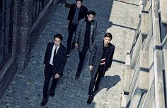 2nd Batch Of The Class F/W 2015 Ads Feat. CNBLUE | Couch Kimchi