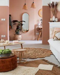 Pastel Home Decor, Warm Home Decor, Home Office Decor, Room Ideas Bedroom, Diy Bedroom Decor, Home Room Design, Living Room Designs, Pastel Living Room, Pastel House