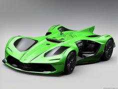 Lamborghini Spectro Autonomous Racer on Behance