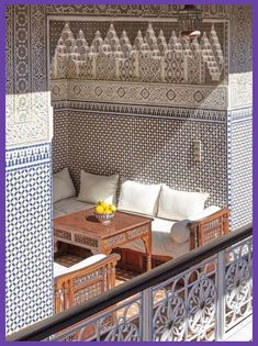 Moroccan tiles are intricate, colorful, and flamboyant - my kinda thing! Let's take a look at these drop-dead gorgeous Moroccan tiles and see how they can be used throughout different Moroccan inspired interiors. Moroccan Home Decor, Moroccan Interiors, Moroccan Design, Moroccan Style, Moroccan Bedroom, Moroccan Lanterns, Moroccan Furniture, Deco Restaurant, Plafond Design