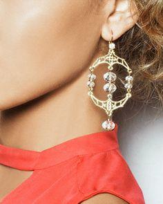 Golden Age Earrings.